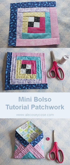 Mini Bolso - Tutorial Patchwork
