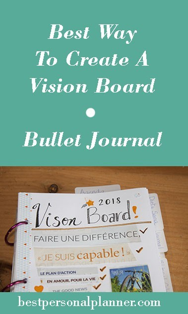 best way to create your vision board