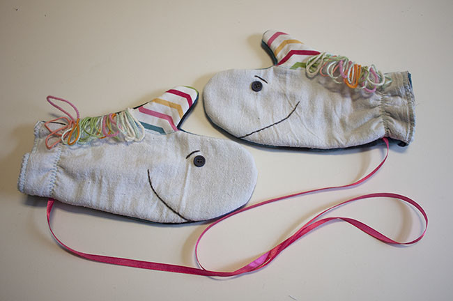 Unicorn Mittens Sewing For Kids
