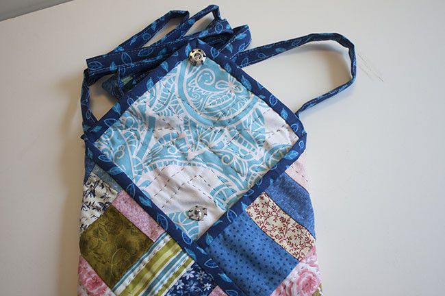 Origami Patchwork Bag Tutorial