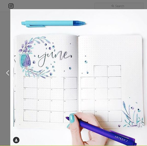 bullet journal instagram accounts to follow