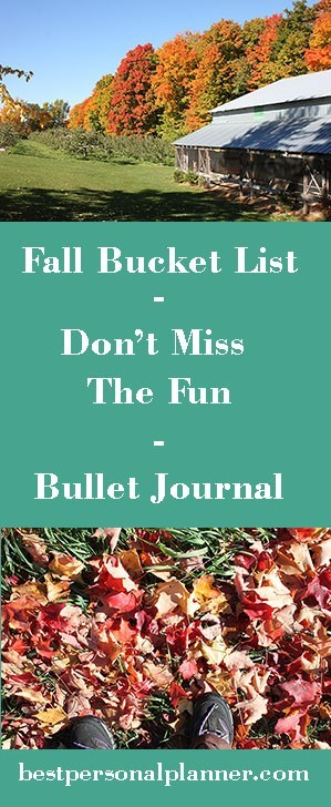 Fall bucket list don't miss the fun