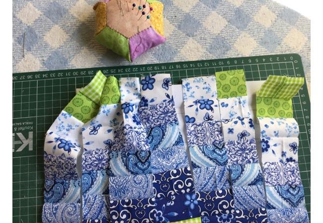 Bargello Quilt Block Pattern