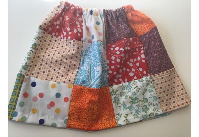 Make Patchwork Skirt
