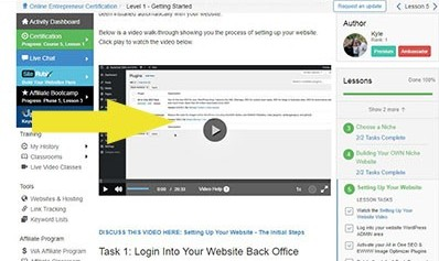 how to build up a new website