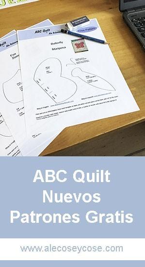 ABC quilt nuevos patrones gratis