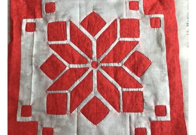 Nordic Star Mini Quilt