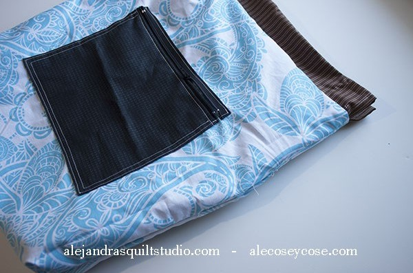Patchwork Backpack Drawstring Tutorial