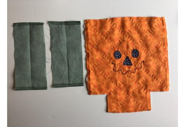 DIY Pumpking Drawstring Bag