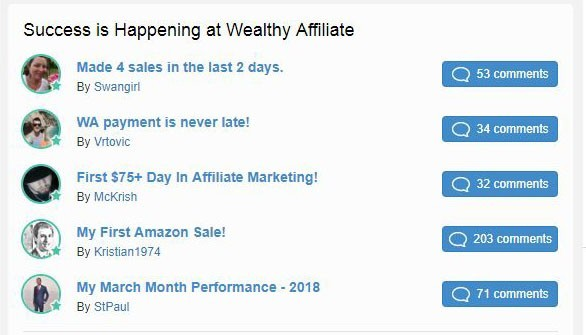 motivation and success with wealthy affiliate