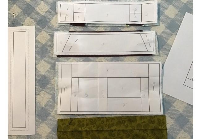 House Quilt Block Pattern
