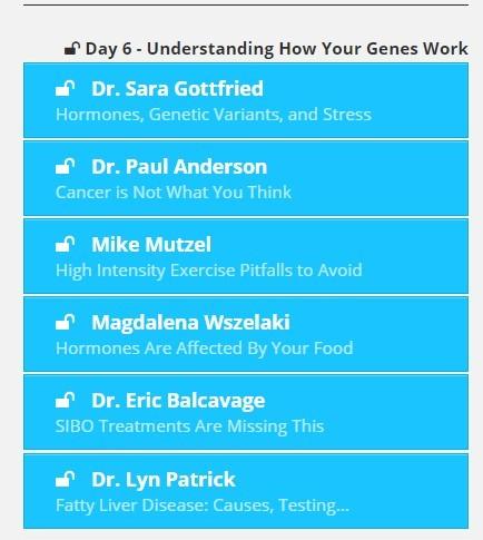 day 6 Understanding how your genes work