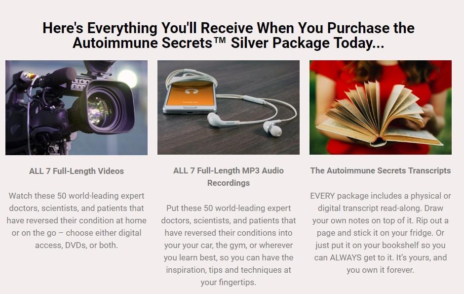 Silver Package autoimmune secrets