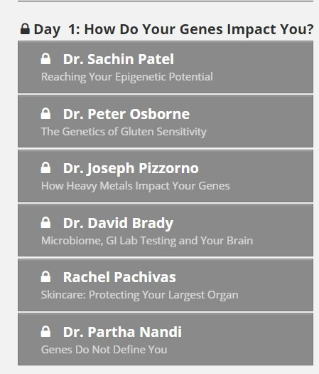 Day 1 how do your genes impact you