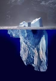 iceberg analogy for disease