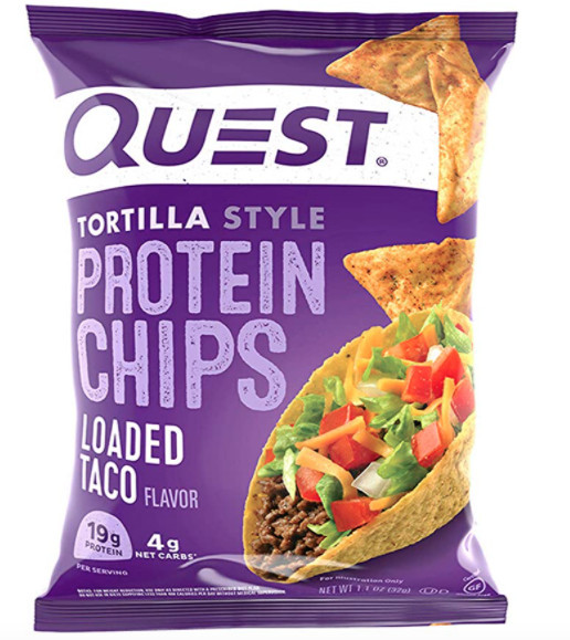 Buy quest protein chips on Amazon