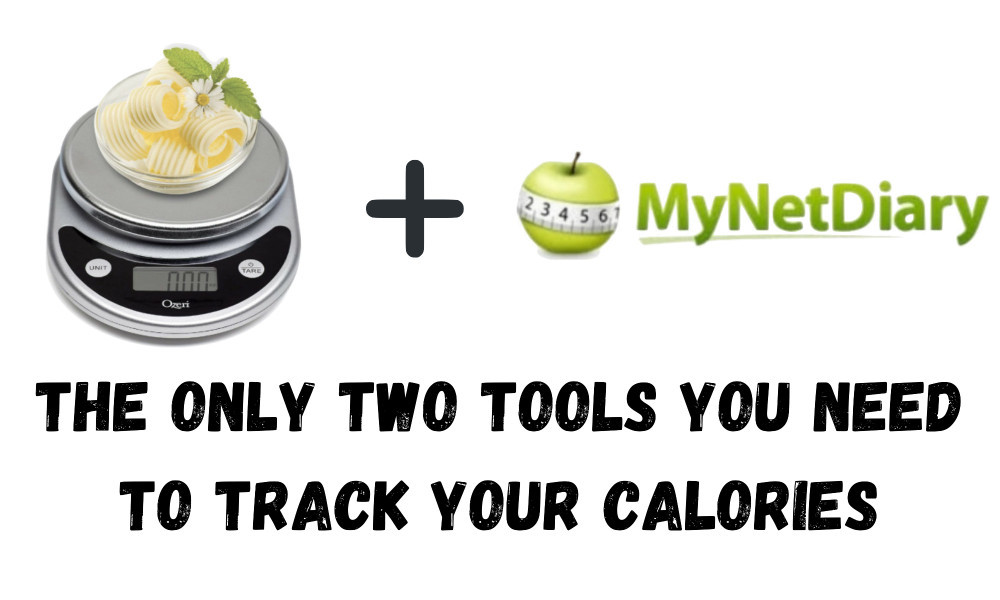 how to use a food scale to count calories