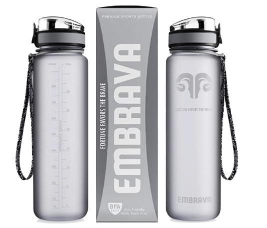 embrava water bottle