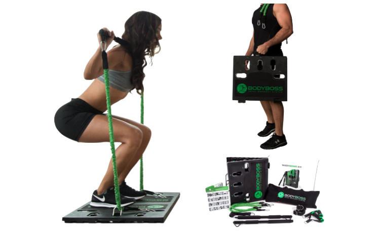 Bodyboss full portable home gym