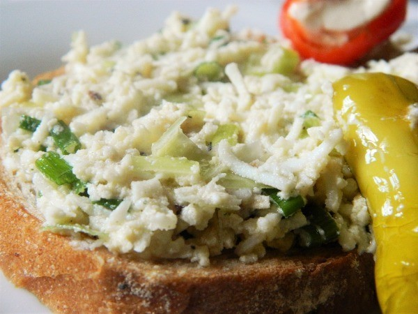 Classic Egg Salad Sandwich Recipe-The Egg Salad on the Fresh Bread