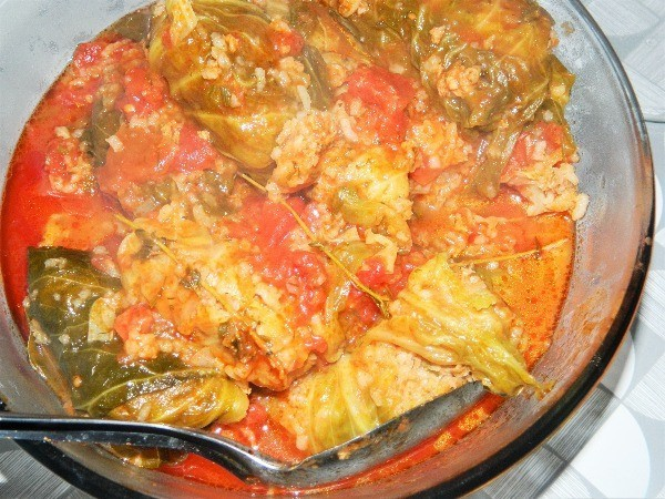 Serving the best stuffed cabbage rolls