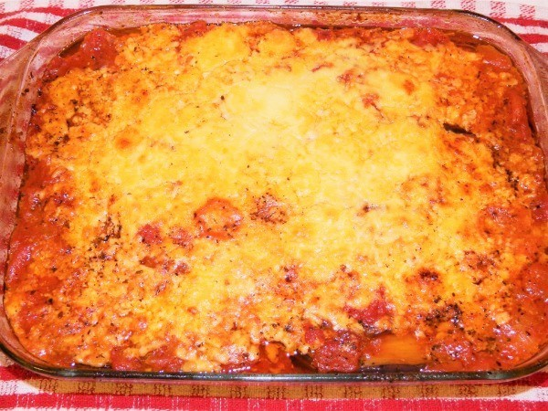 Best eggplant casserole recipe is ready