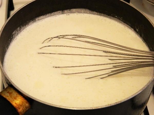 Sweet Fried Semolina Pudding recipe-Boiling Semolina Pudding