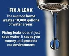 fix a water leak