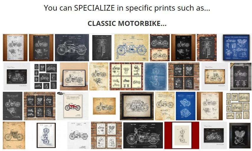 motor bike vintage patents