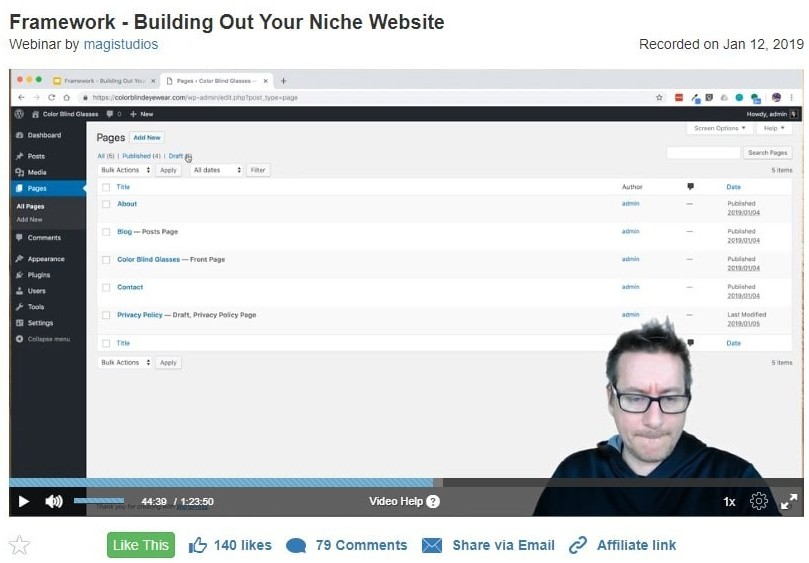 Live Training Sessions - A Wealthy Affiliate University Review