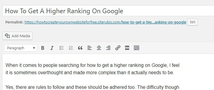 Keyword In Title - How To Get Higher Rankings On Google