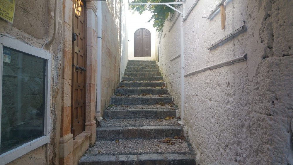 Up To The Acropolis - Lindos Village In Rhodes