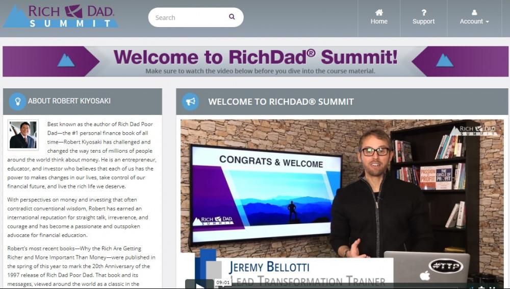 The Rich Dad Summit