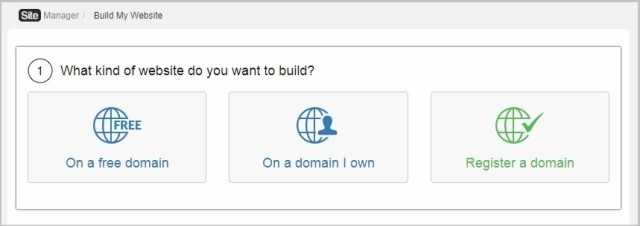 Build Website On A Free Domain