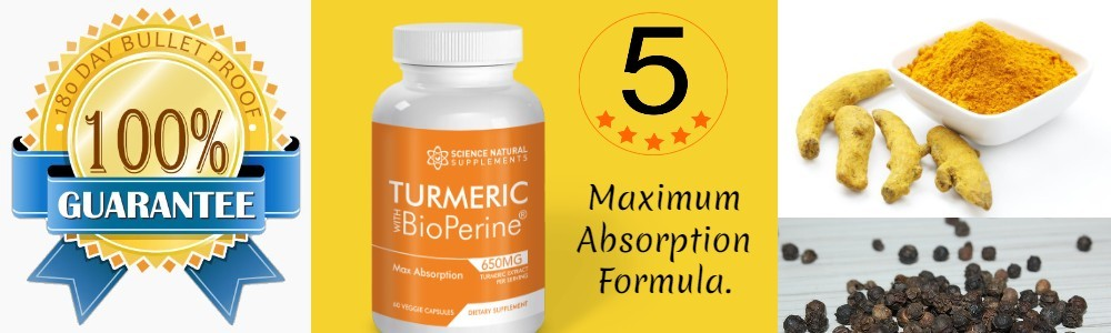 Science backed turmeric for depression supplement