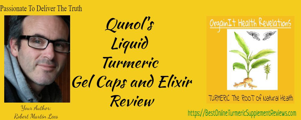 Author Robert Lees display excitement with this qunol turmeric review
