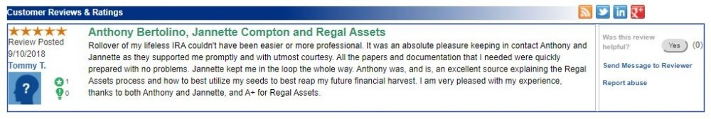 regal assets review - something you should know