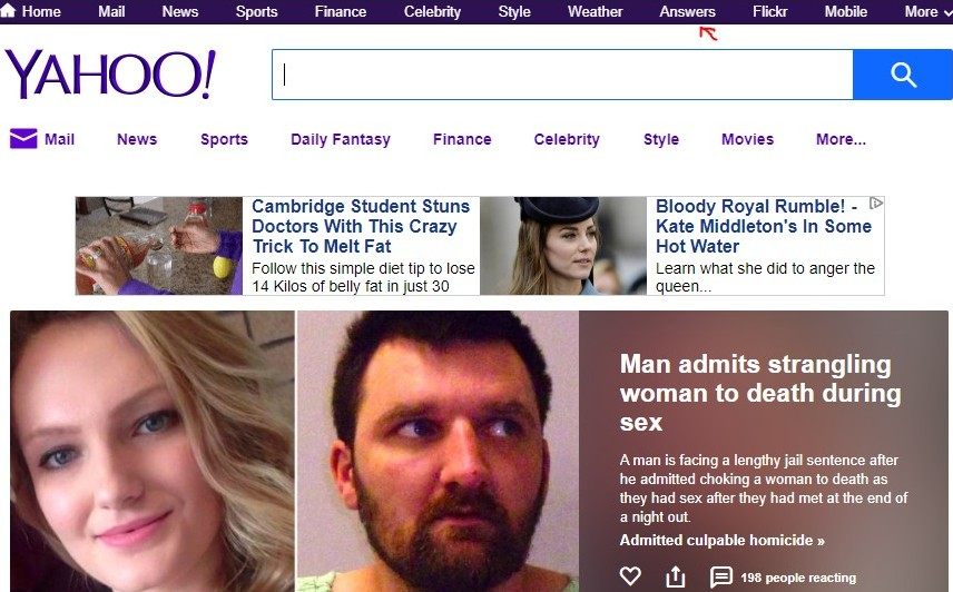 how to get in the first page of bing and yahoo