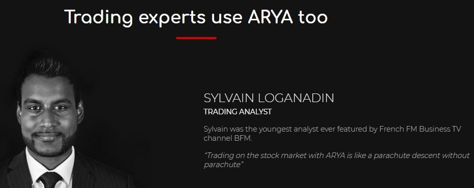 arya trading review - what experts are saying