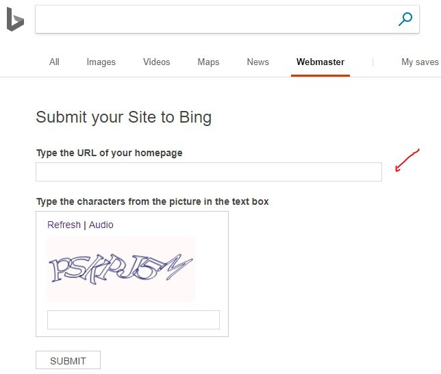how to get in front of Bing and Yahoo