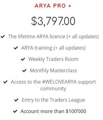 arya trading review