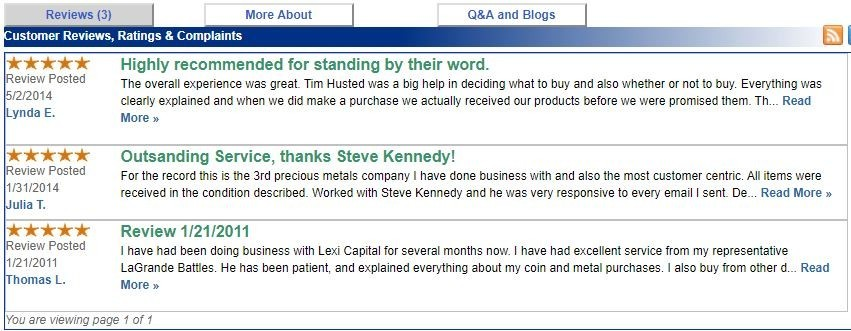 lexi capital review - happy customers