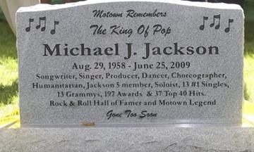 Michael Jackson Gravesite Location
