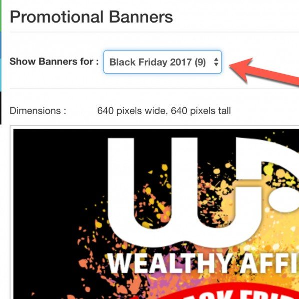 Black Friday Promotional Materials, Banners & Ideas