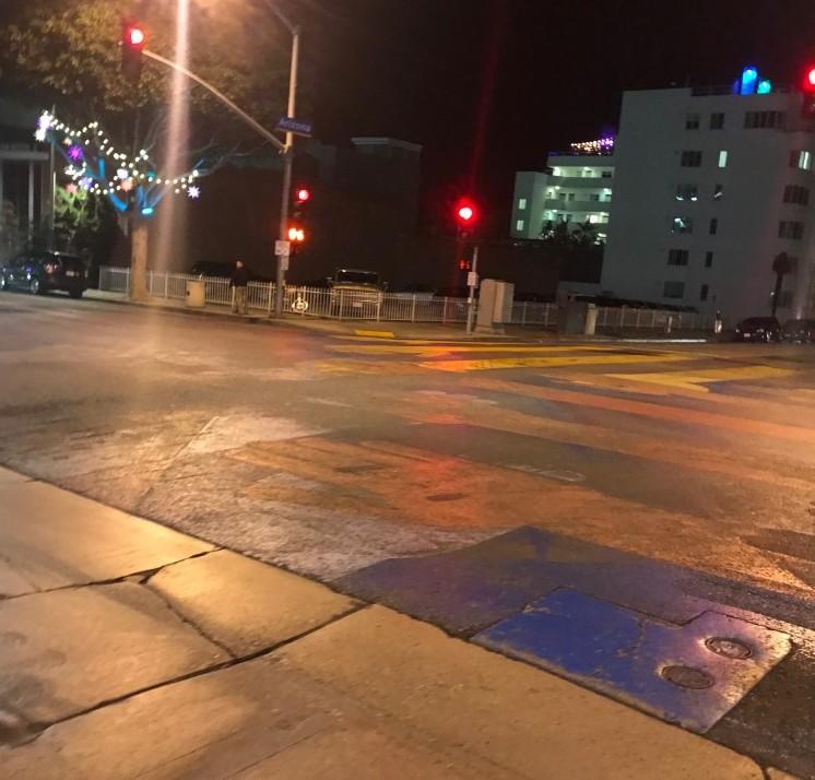 An Unconventional Crosswalk