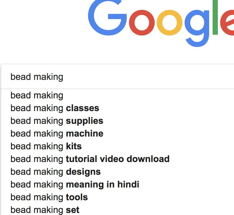 bead making search google