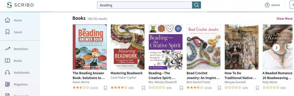 Beading Books on Scribd