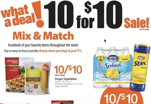 10 for 10 pricing strategy