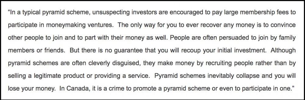 pyramid scheme definition