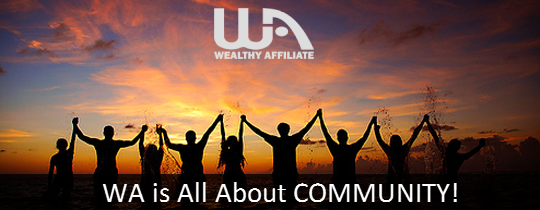 Resultado de imagen de wealthy affiliate community